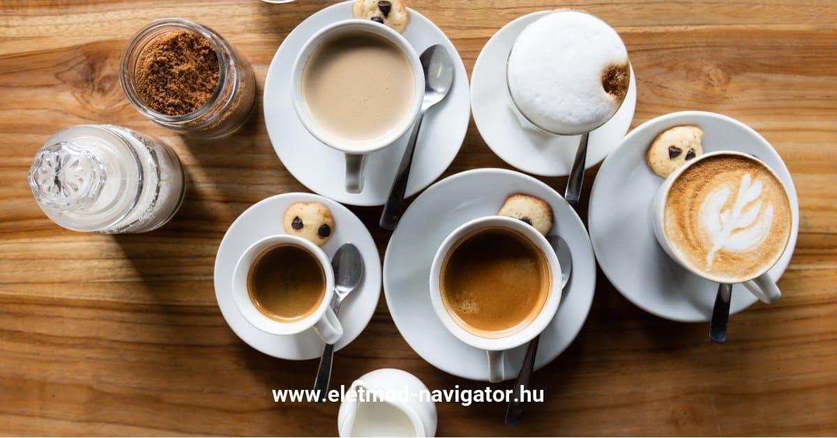 kávé fogyás előnyei