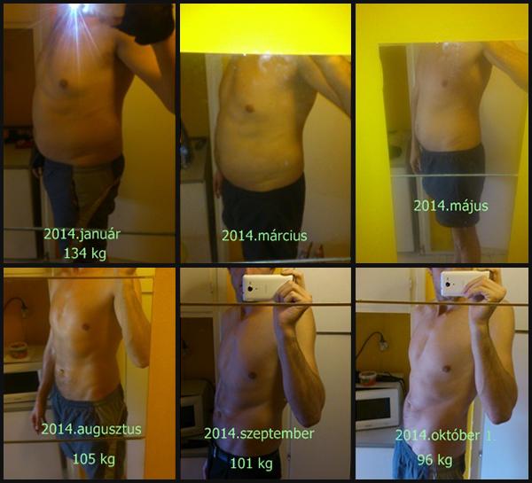 fogyás eredmények 1 hónap egészségügyi tippek a zsírégetésre