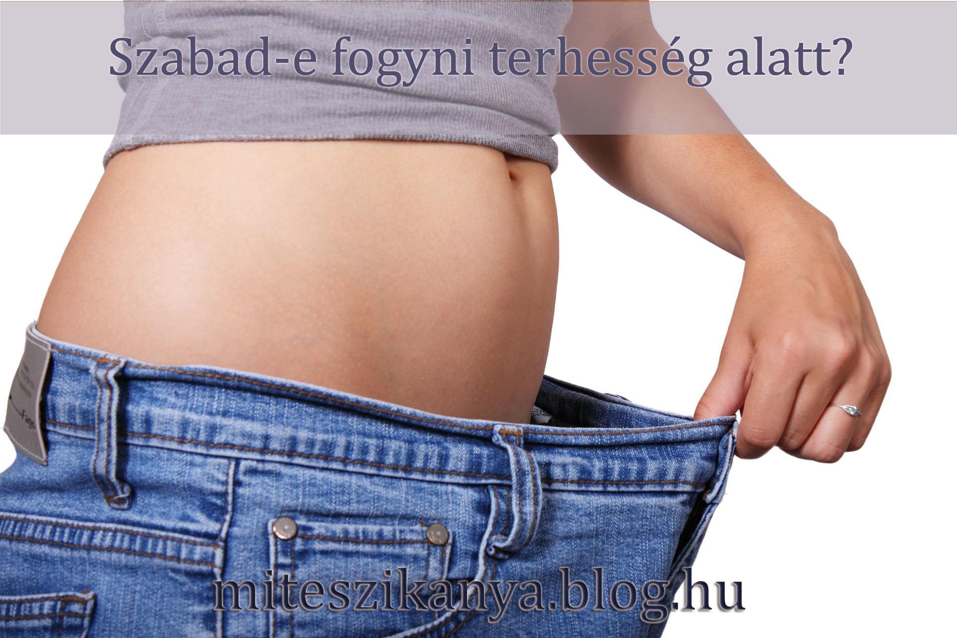 diéta fogyás terhesség alatt