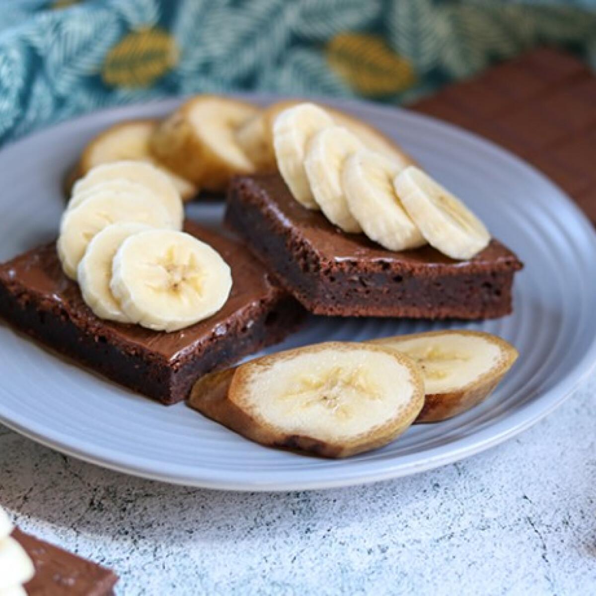 Isteni diétás banános brownie, csupán 30 perc alatt
