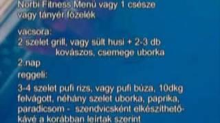 Zsírégető Norbi-diéta