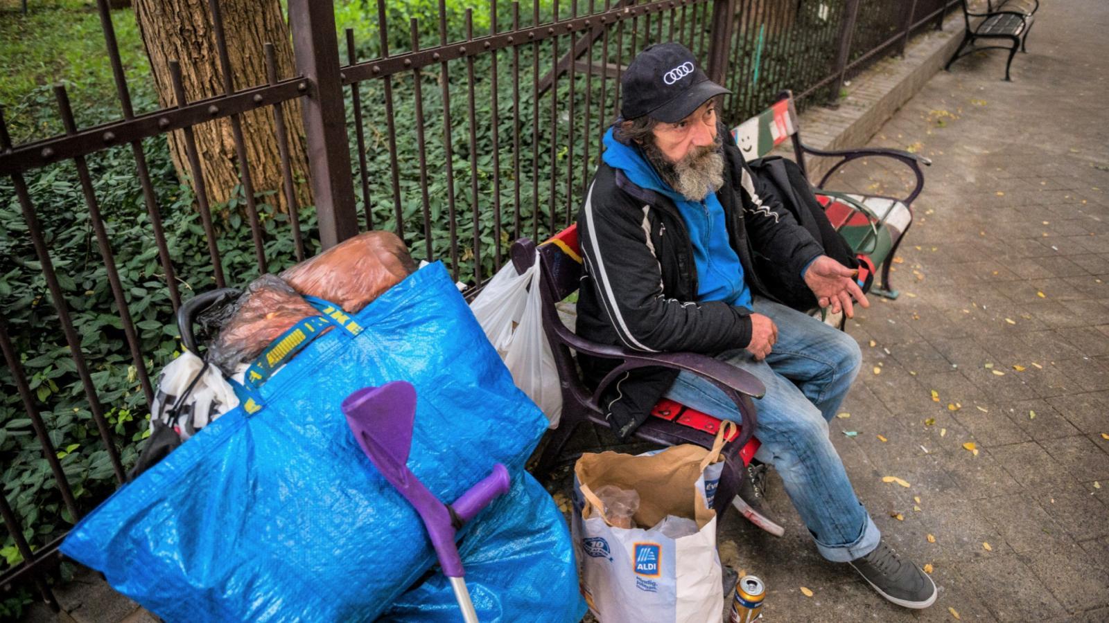 hogyan lehet fogyni hajléktalanok közben