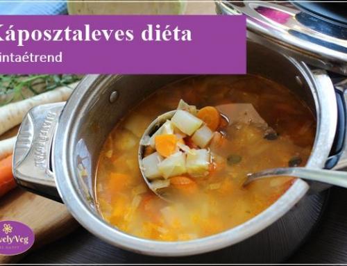 7 napos káposztaleves-diéta és egy szuper recept