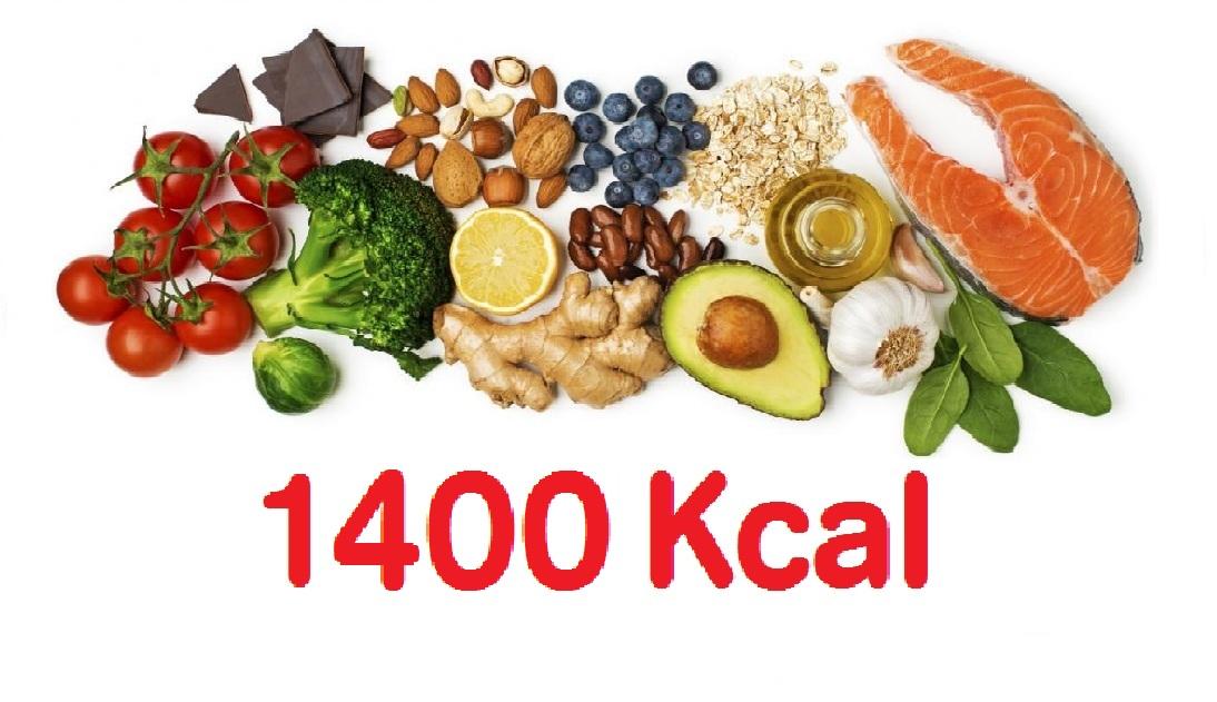 1800 kcal étrend