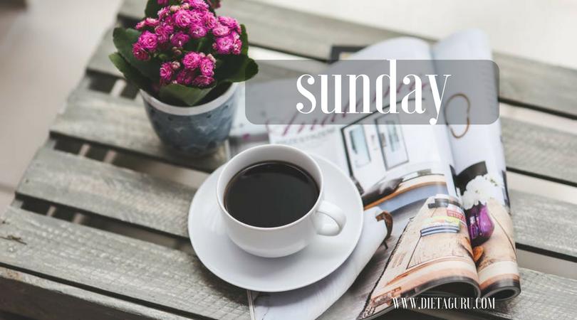 5 vasárnapi szokás, amiktől egész héten fogyni fogsz