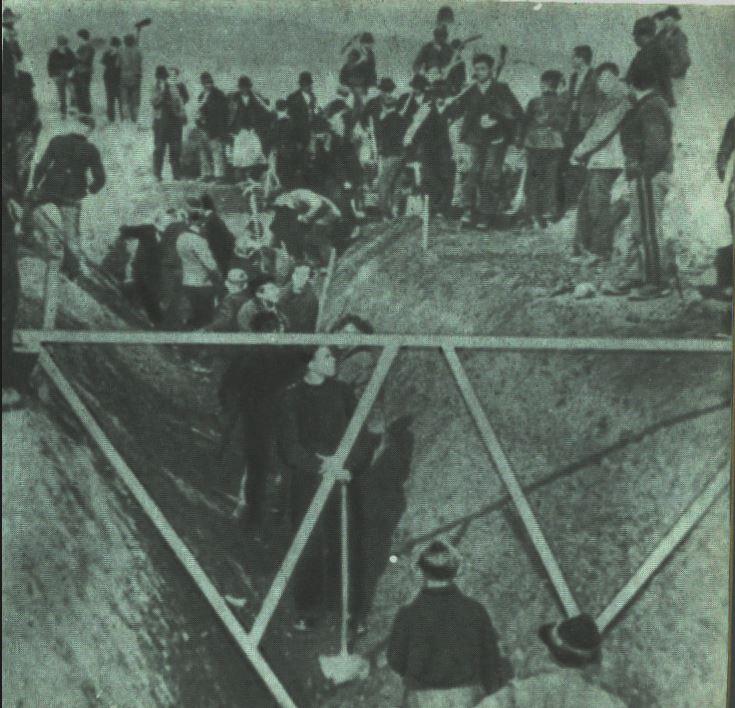 Velence, a II. világháborús hadszíntér-17. rész: Akik ástak