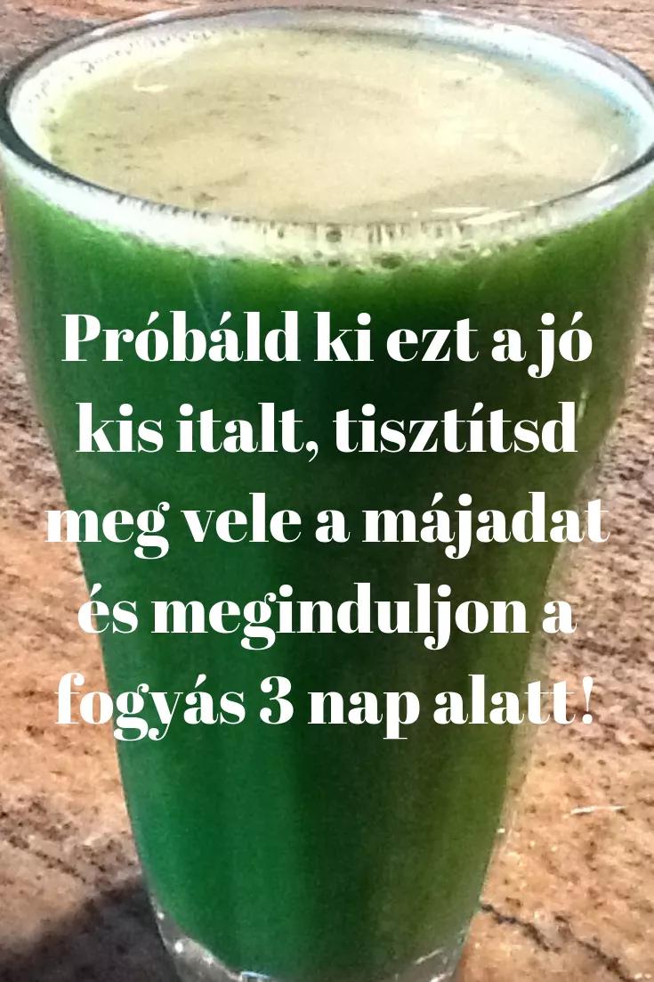 fogyás uborka ital