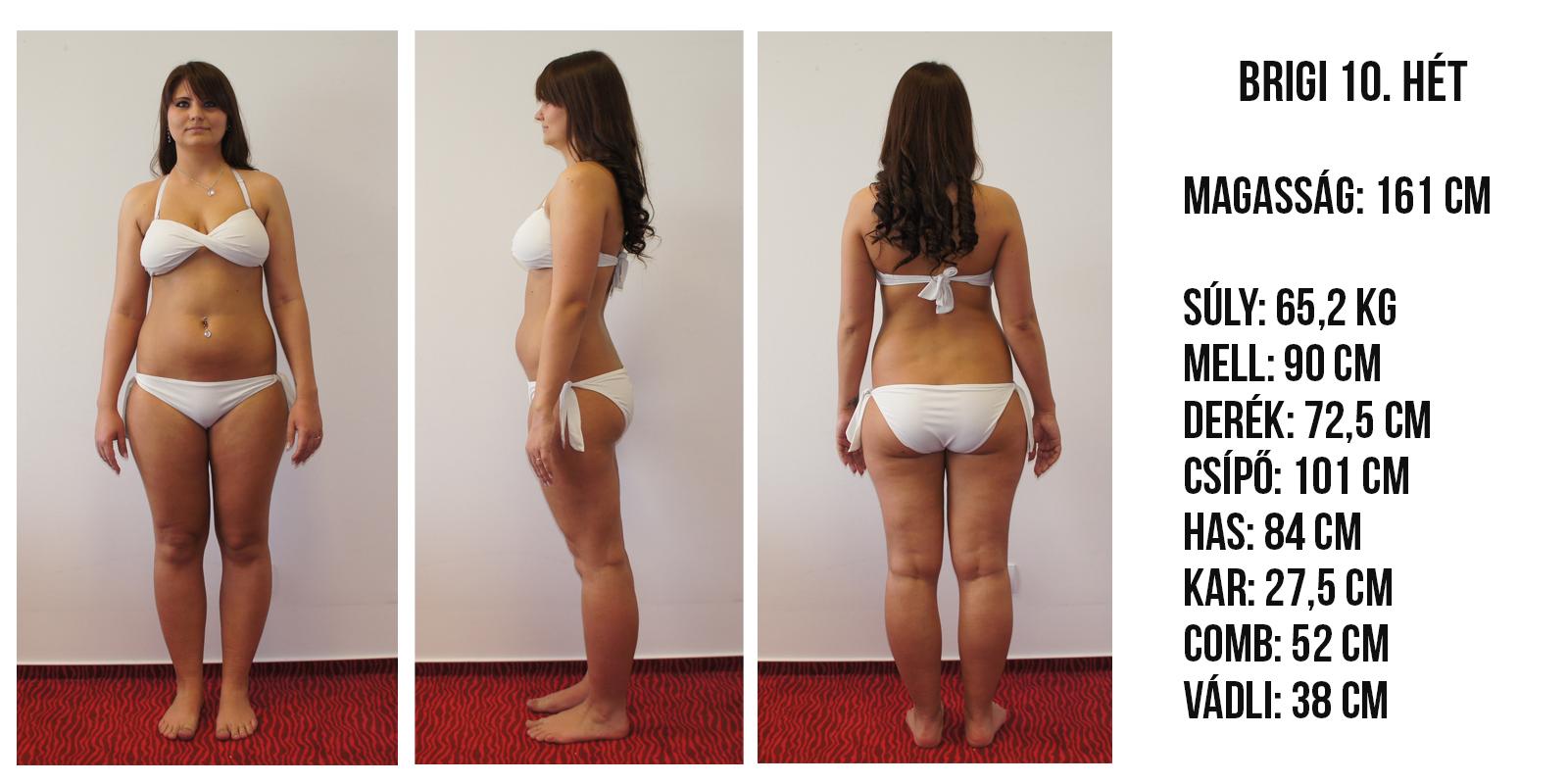 hogyan lehet lefogyni 65 kg