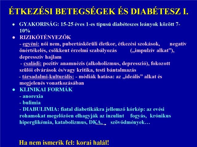 A testsúly és az 1-es típusú diabétesz – Szurikáta Alapítvány