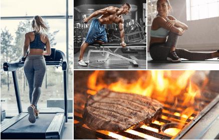 Edzés és fehérje - Fogyókúra   Femina