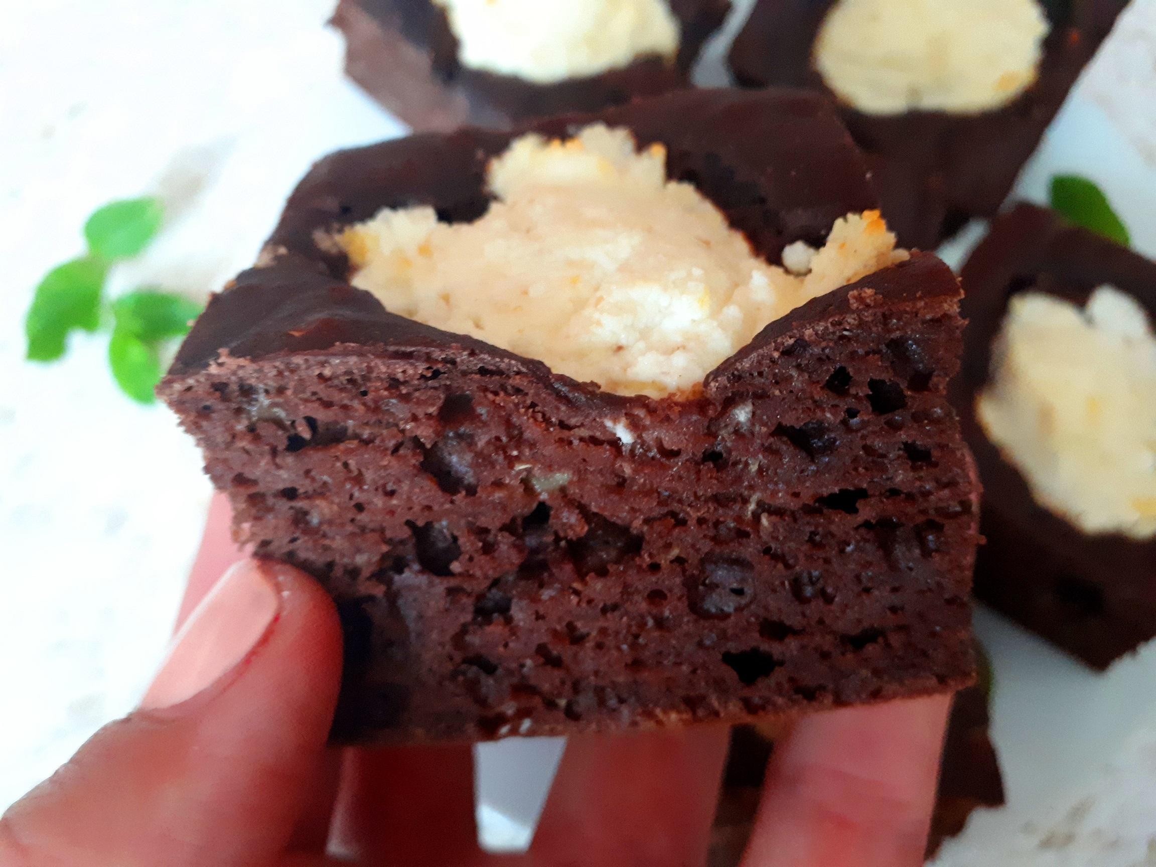 diétás banános brownie