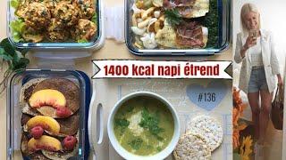 napi 1400 kalóriás étrend súlycsökkenés a visszatérővel